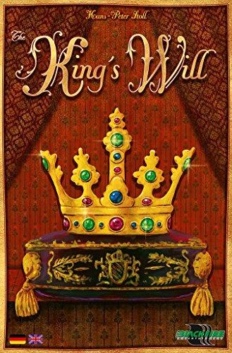 ADC Blackfire Entertainment ADC91650 - The King's Will, Brettspeil, Strategiespiel, Deutsch/Englisch