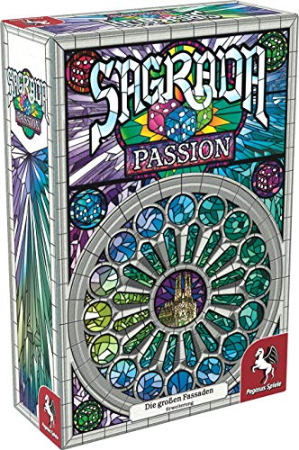 Pegasus Spiele 51122G - Sagrada: Passion (Erweiterung)