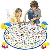 VATOS Brettspiel, Lernspiel Kleiner Detektiv Brettspiele für Kinder Spielzeug für Familien Party,...