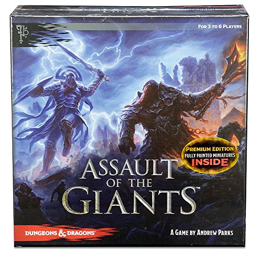 Assault of Giants Dungeons & Dragons Premium Edition Board Game - English