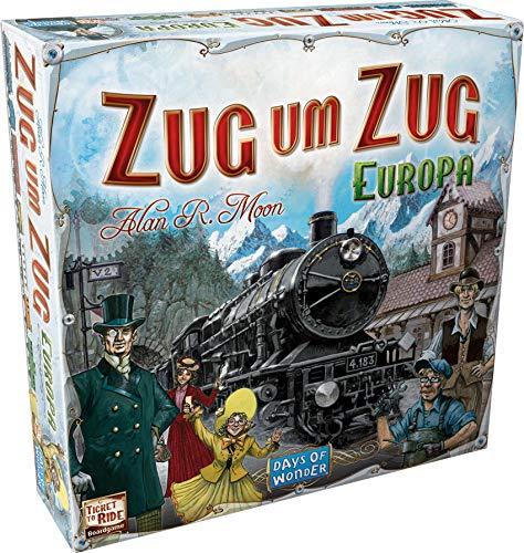 Zug um Zug: Europa - Familienspiele