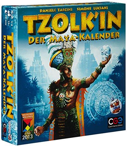 Top 50 Brettspiele - Tzolk'in: Der Maya-Kalender