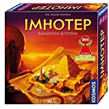 KOSMOS 692384 - Imhotep - Baumeister Ägyptens, das Grundspiel, Strategiespiel mit viel Interaktion...