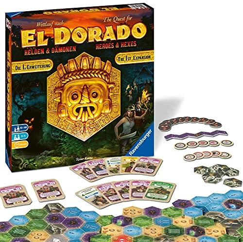 Ravensburger 26790 - El Dorado Helden und Dämonen - Erste Erweiterung, Strategiespiel, Spiel für...