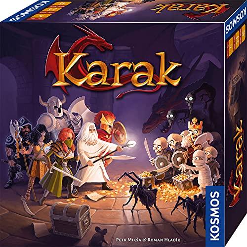 KOSMOS 682286 Karak - Das Abenteuer beginnt, spannendes Kinderspiel ab 7 Jahre für 2 - 5 Personen,...