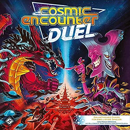 Asmodee Fantasy Flight Games FFGD0172 Cosmic Encounter Duel, Kenner-Spiel, Deutsch