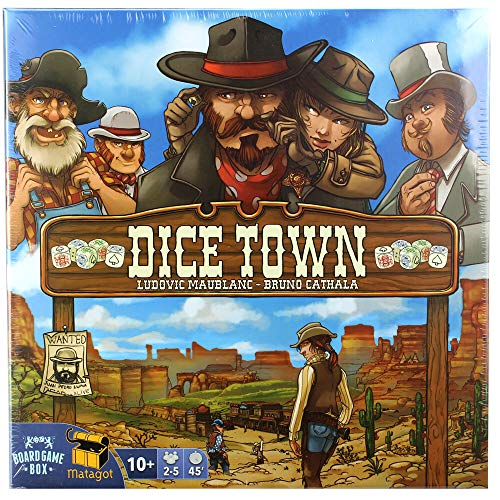 Board Game Box Dice Town (deutsch)