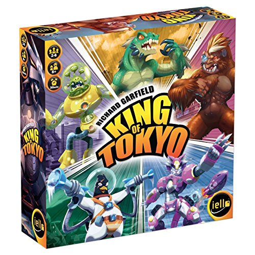 Iello 513299 - King of Tokyo Neue Edition- Deutsch