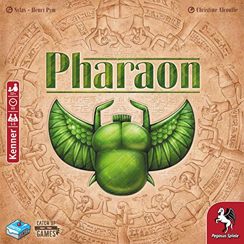 Pharaon, Catch Up Games, 2019 — front cover (image provided by the publisher)