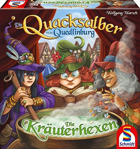 Schmidt Spiele 49358 Die Quacksalber von Quedlinburg Die Kräuterhexen, Erweiterung zum Kennerspiel...
