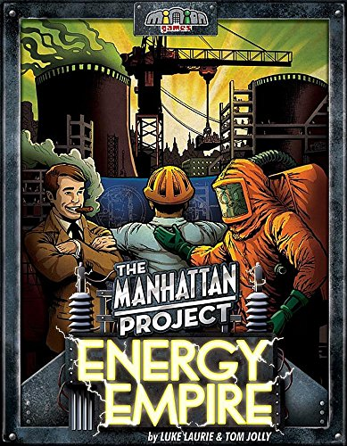 Top 10 Engine Building Brettspiele - The Manhattan Project: Energy Empire