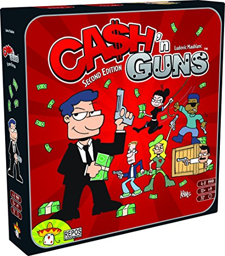 Top 10 Partyspiele - Ca$h'n Guns