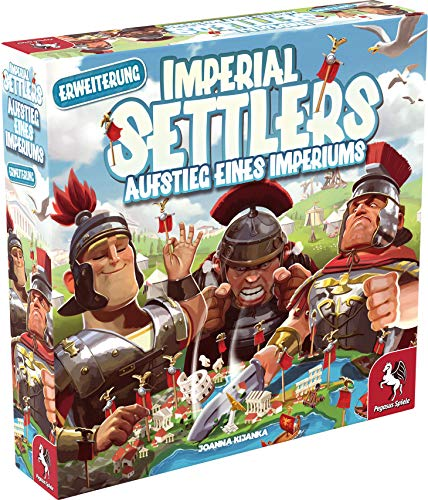 Imperial Settlers: Rise of the Empire, Portal Games, 2020 — front cover - Erweiterungen