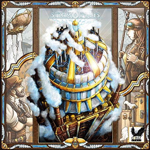 Corax Games Steamopolis Brettspiel deutsch