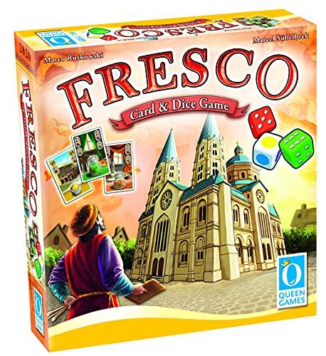 Queen Games - 10565 Fresco Card & Dice Game
