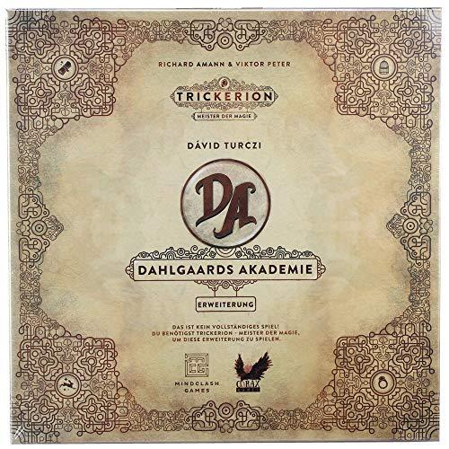 Corax Games Trickerion - Dahlgaards Akademie Erweiterung Brettspiel deutsch