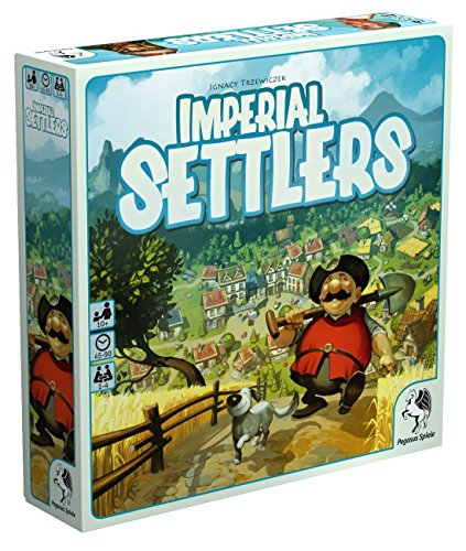 Top 10 Engine Building Brettspiele - Imperial Settlers