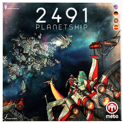 Mebo 2491: Planetship (DE/EN/ES/PT)
