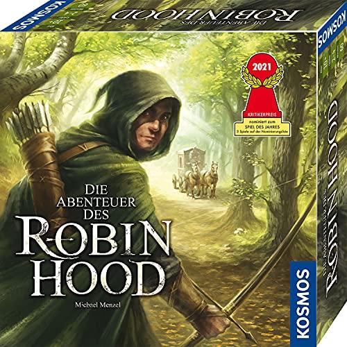 KOSMOS 680565 Die Abenteuer des Robin Hood, Kooperatives Abenteuer-Spiel für die ganze Familie, mit...