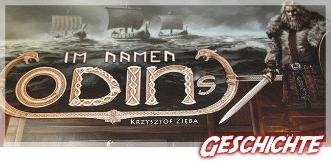 Im Namen Odins - Wikinger Brettspiel