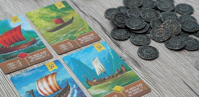 Räuber der Nordsee: Die Metallmünzen gibt es für 5 Euro mehr