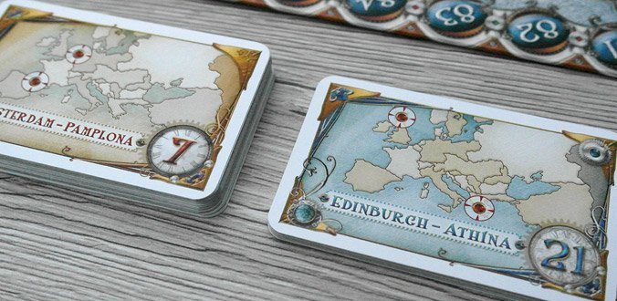Zug um Zug Europa: Aufgabenkarten