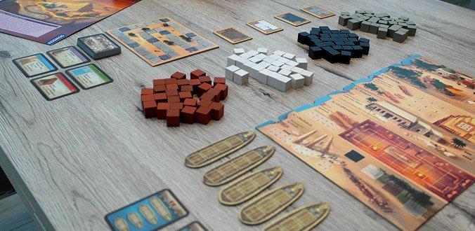 Imhotep - Das Spielmaterial im Überblick
