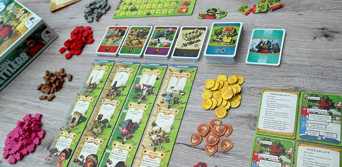 Imperial Settlers - Das Spielmaterial