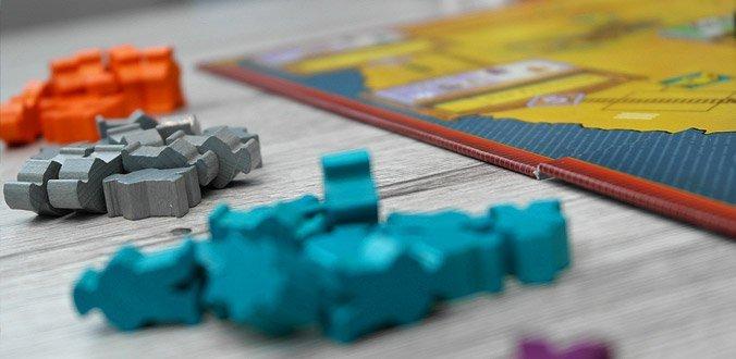 Railroad Revolution - Die Arbeiter in verschiedenen Farben