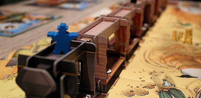 Colt Express Brettspiel - Die schönen Zugwaggons