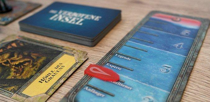 Die Verbotene Insel - Wasserpegel und Flutkarten