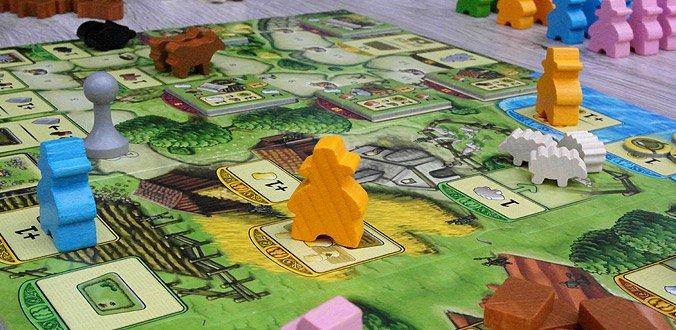 Agricola Familienspiel - Spielplan