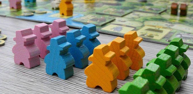 Agricola Familienspiel - Unsere Bewohner