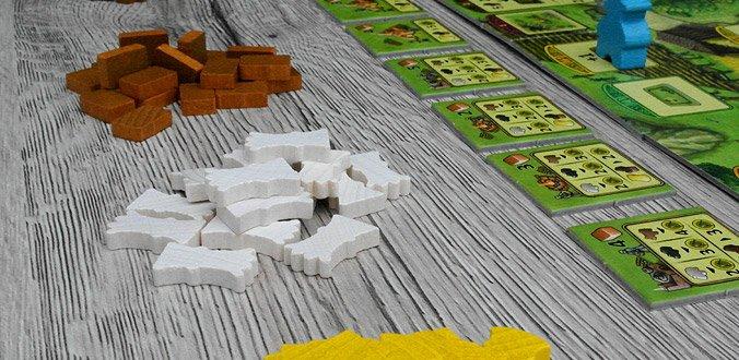 Agricola Familienspiel - Ressourcen