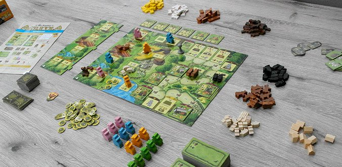 Agricola Familienspiel - Das Spielmaterial