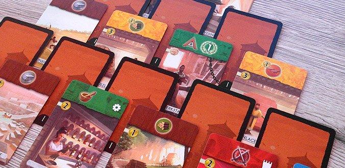 7 Wonders Duell - Die kreative Kartenauslage im ersten Zeitalter
