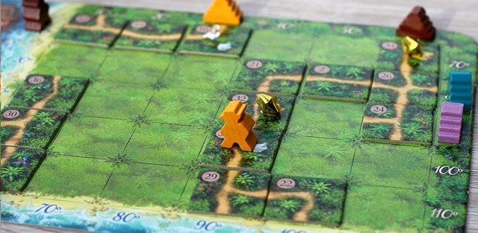Karuba - Spielfeld eines Spielers
