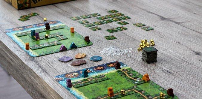 Karuba - Spielmaterial für 2 Spieler
