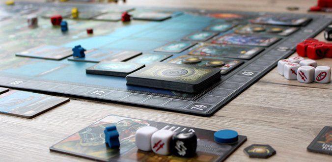 Champions of Midgard - Blick auf das Spielbrett
