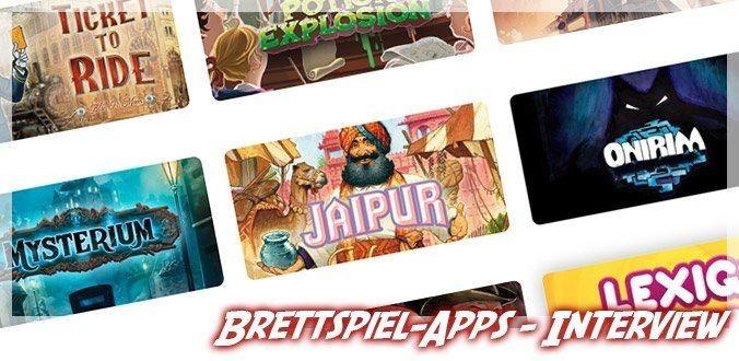 Asmodee Digital über digitale Brettspiel, neue Apps und die Zukunft