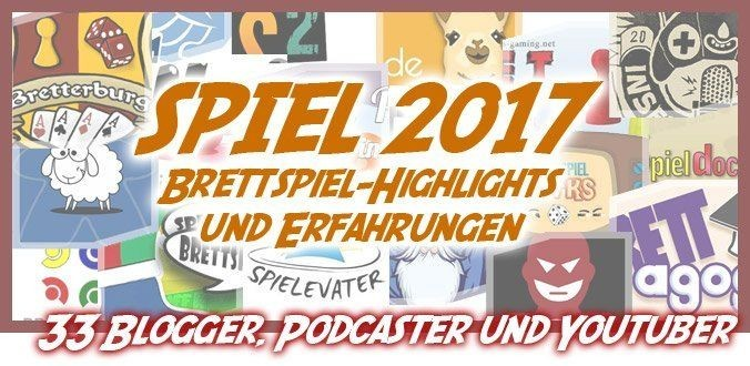 Spiel 2017 Blogger Youtuber Podcaster