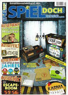 SPIEL DOCH! - Brettspiel-Zeitschriften - Analoge Informationen über analoge Spiele