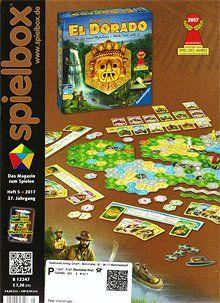 Spielbox Magazin - Brettspiel-Zeitschriften - Analoge Informationen über analoge Spiele