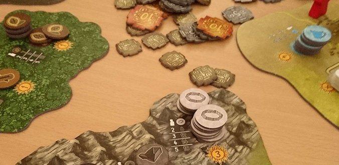 Altiplano - Ein Teil des Spielmaterials