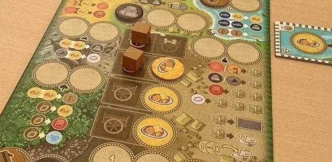 Altiplano - Auf dem Spielertableau planen wir unsere Aktionen