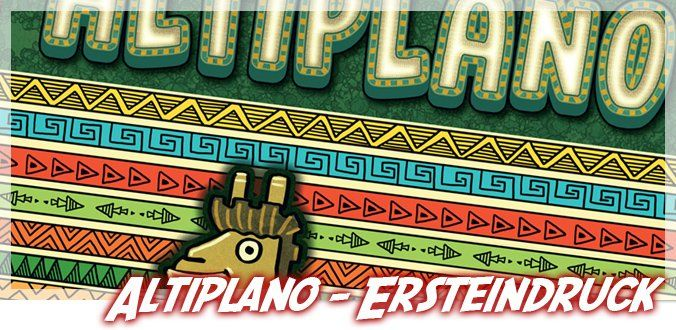 Altiplano Brettspiel