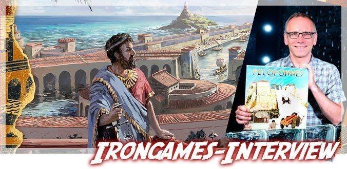 Antike Häfen, epische Helden & andere Brettspiele – Interview mit Irongames