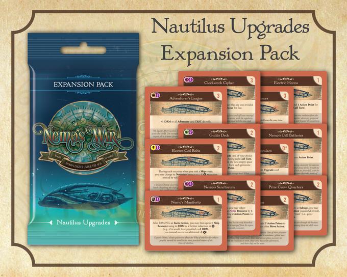 Nemo's War auf Kickstarter – inklusive neuer Erweiterung