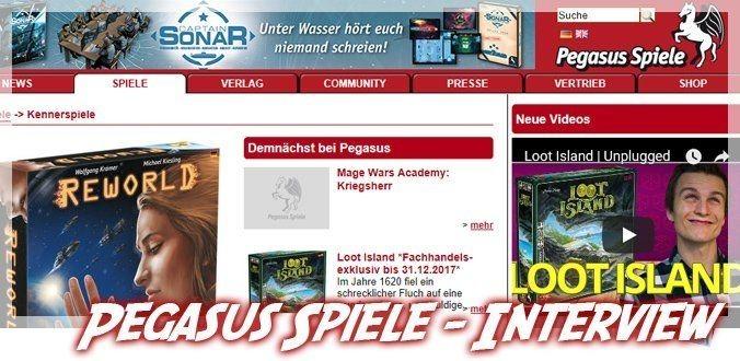 Pegasus Spiele Interview