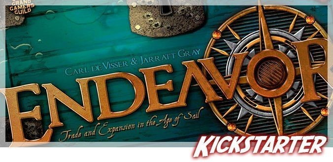 Endeavor: Age of Sail - Kickstarter